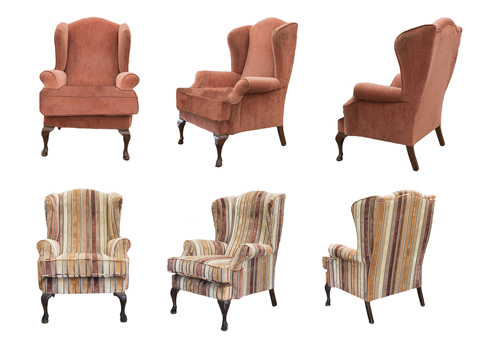 Queen Anne Chair_ Before & After