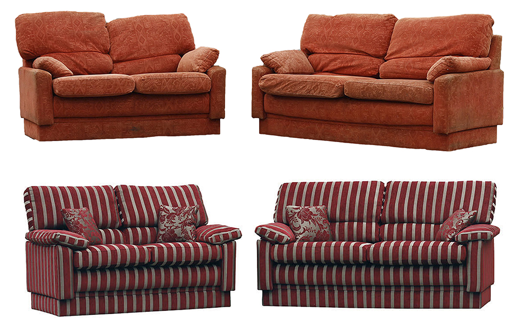 TigressSofa Before & After