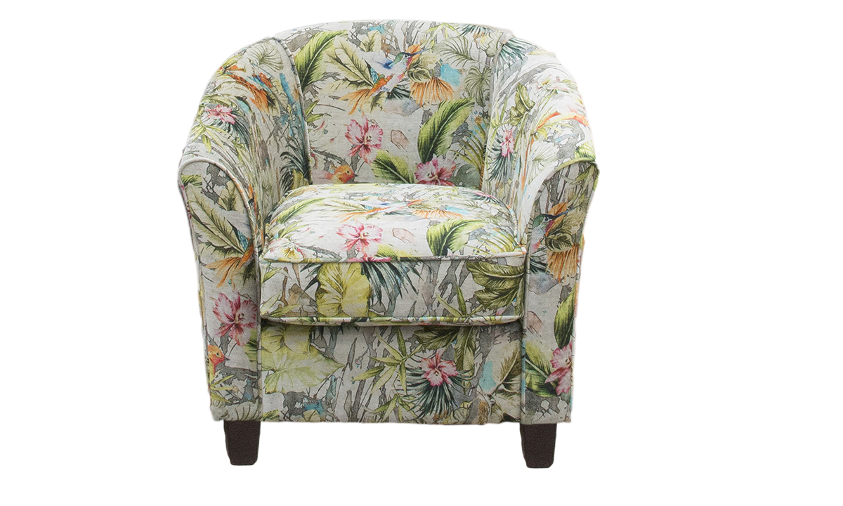 Tub Chair in Paradise Multi
