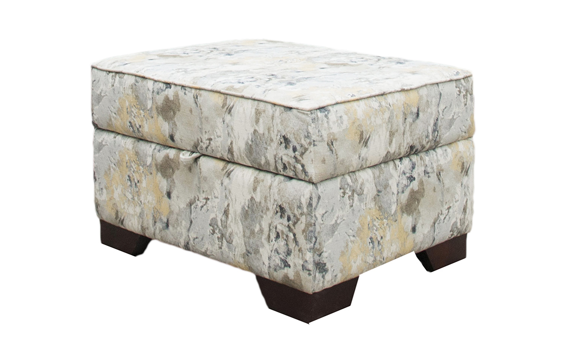 Imperial Storage Footstool Discontinued Fabric
