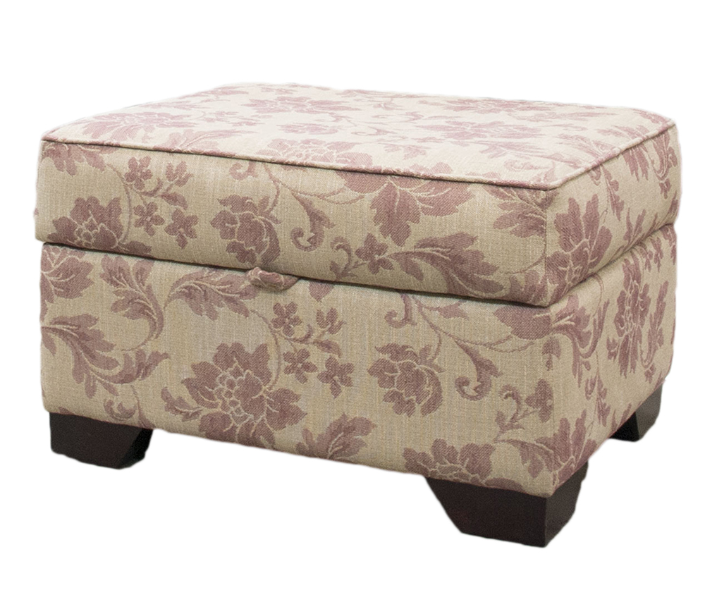 Imperial Storage Footstool - Socrates Pattern