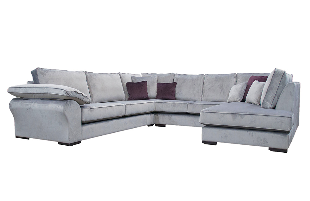Atlas Chaise Sofa in Customers Own Fabric