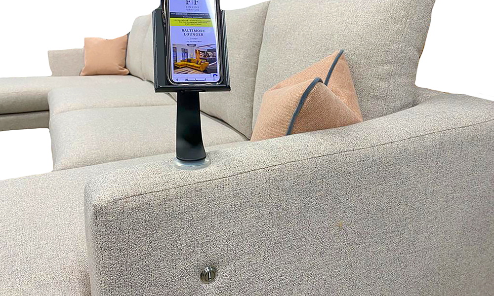 Baltimore Lounger with USB Port and Holder - 405524