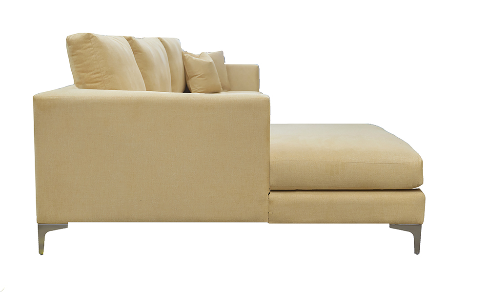 Baltimore 3 Seater Sofa Lounger Warwick Comfy Flaxin, Platinum Collection Fabric
