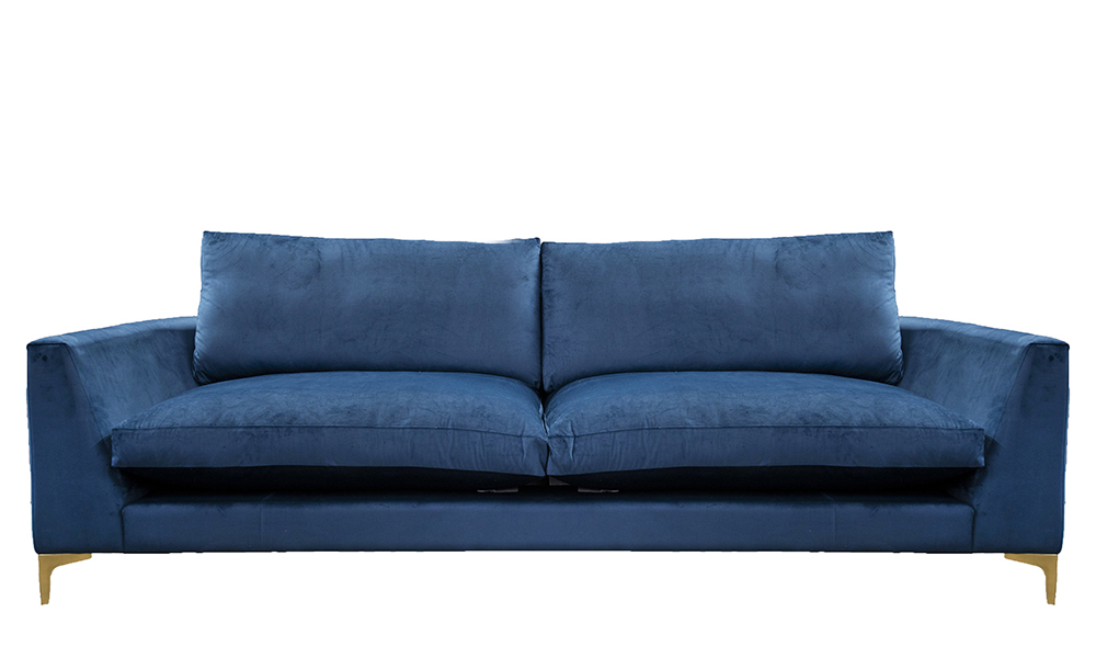 Baltimore 3 Seater  Sofa, with Fibre Filled Cushions, Discontinued Fabric