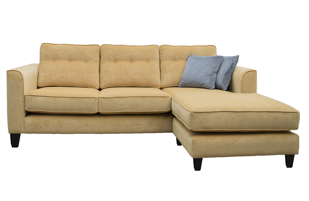 Boland 3 Seater Chaise End Sofa in Ross Pimlico sr16002