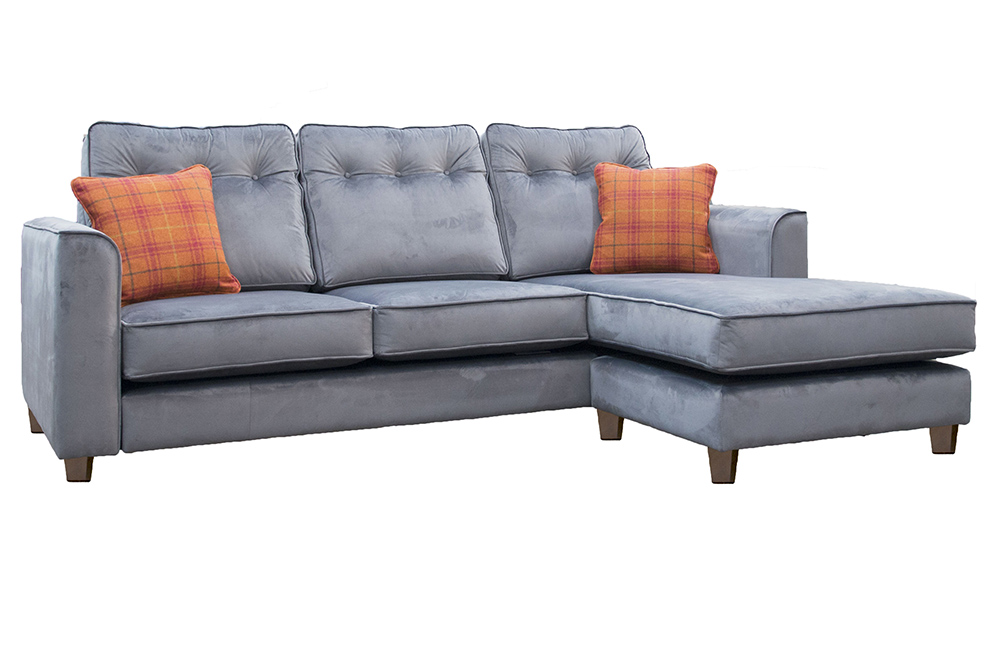 Boland 3 Seater  Sofa Chaise End In Customers own Fabric