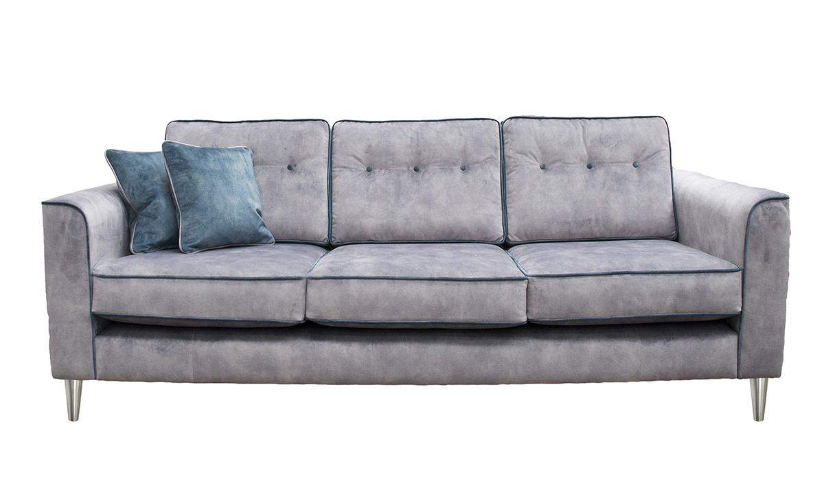 Boland Large Sofa in Lovely Armour, Gold Collection Fabric
