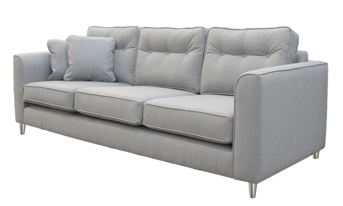 Boland Large Sofa Side in San Francisco Light Bronze Collection