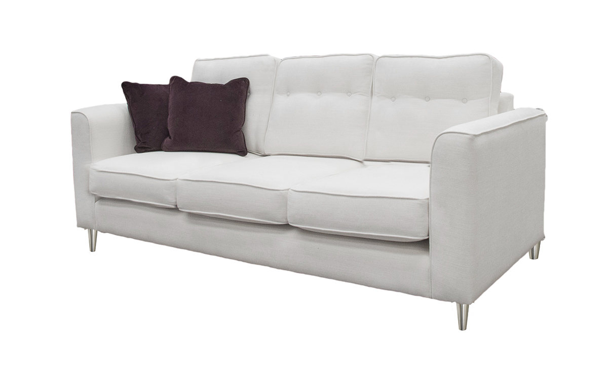 Bespoke Size Boland Sofa Side in JBrown White 3