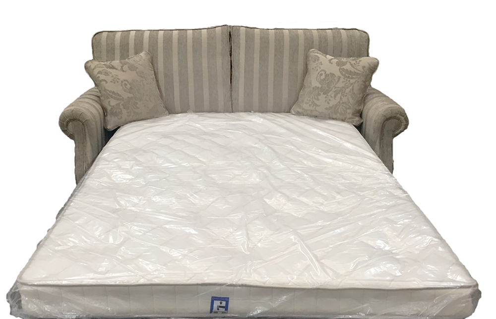Clare sofa bed - 4ft6%22 bed - silver collection Open