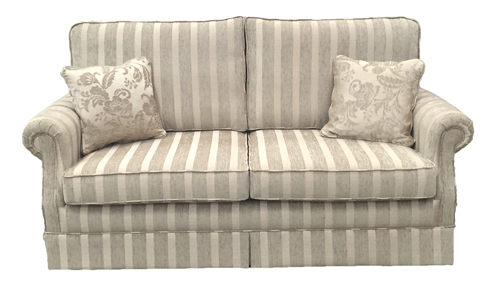 Clare sofa bed - 4ft6%22 bed - silver collection