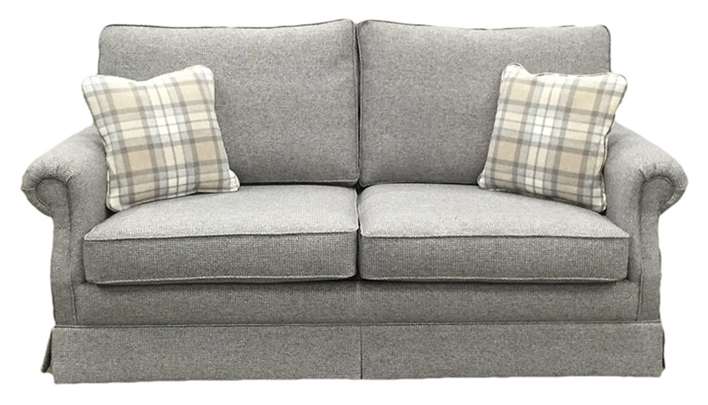 Clare sofa bed in Milwaukee grey - bronze collection