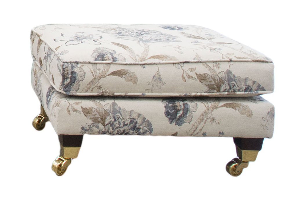 Cleary Footstool - Silver Collection