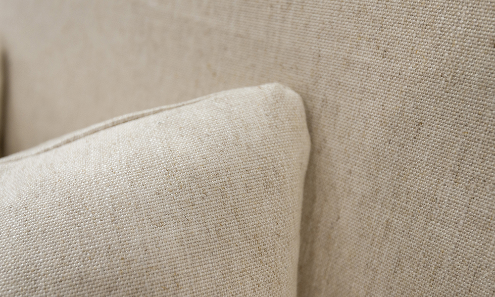 Cushion Detail in Jbrown Costal 030 Cotton Gold Collection Fabric