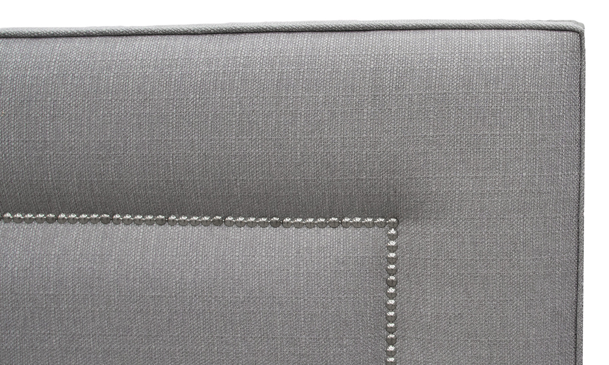Coolmore-6ft Headboard Aosta Silver