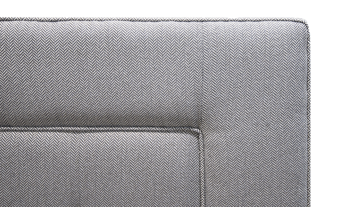 Coolmore Headboard 5ft in Porto Caramel-Silver Collection of Fabrics