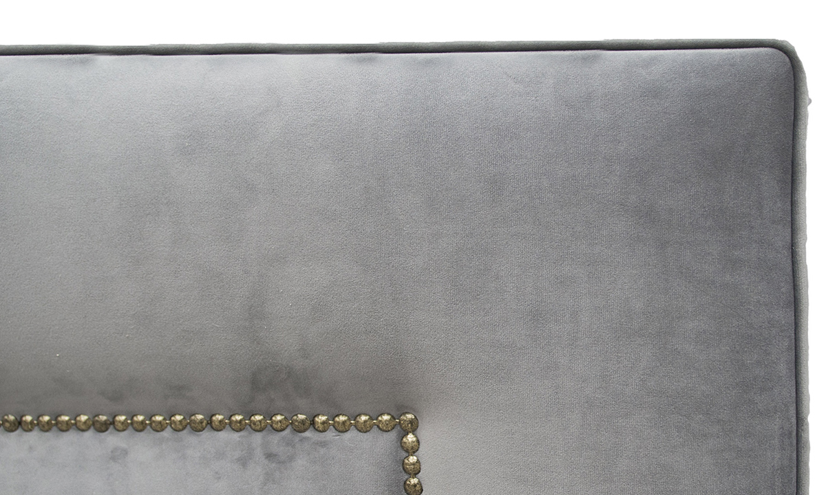 Coolmore Headboard 6ft Detail Brass Studding LuxorDolphin