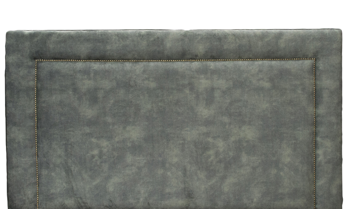 Coolmore 6ft Headboard Lovely Jade, Gold Collection Fabric