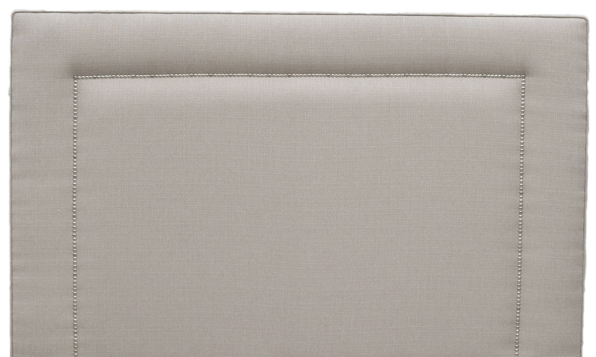 Coolmore 5ft Headboard in Aosta Linen, Silver Collection Fabric