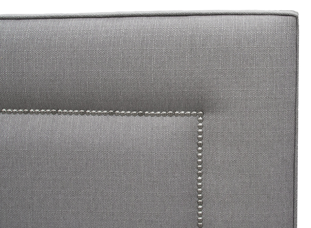 Coolmore 6ft Headboard Close Up - Asota Silver