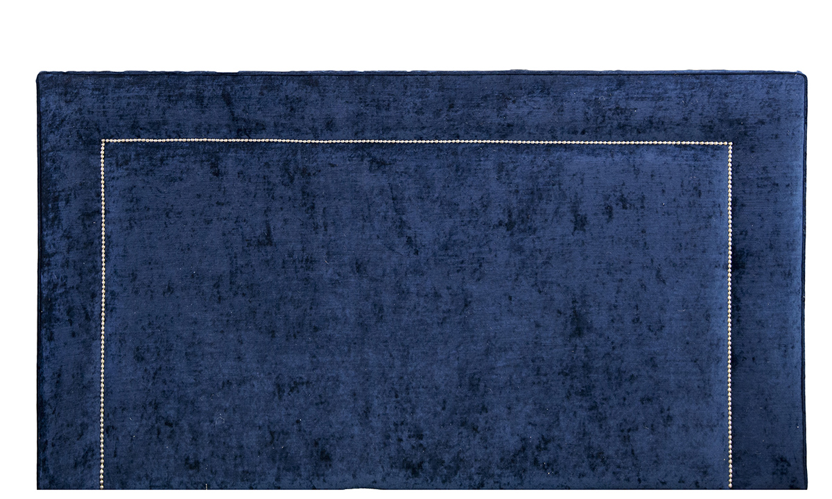 Coolmore 6ft Headboard in Mancini Carbon, Gold Collection Fabric