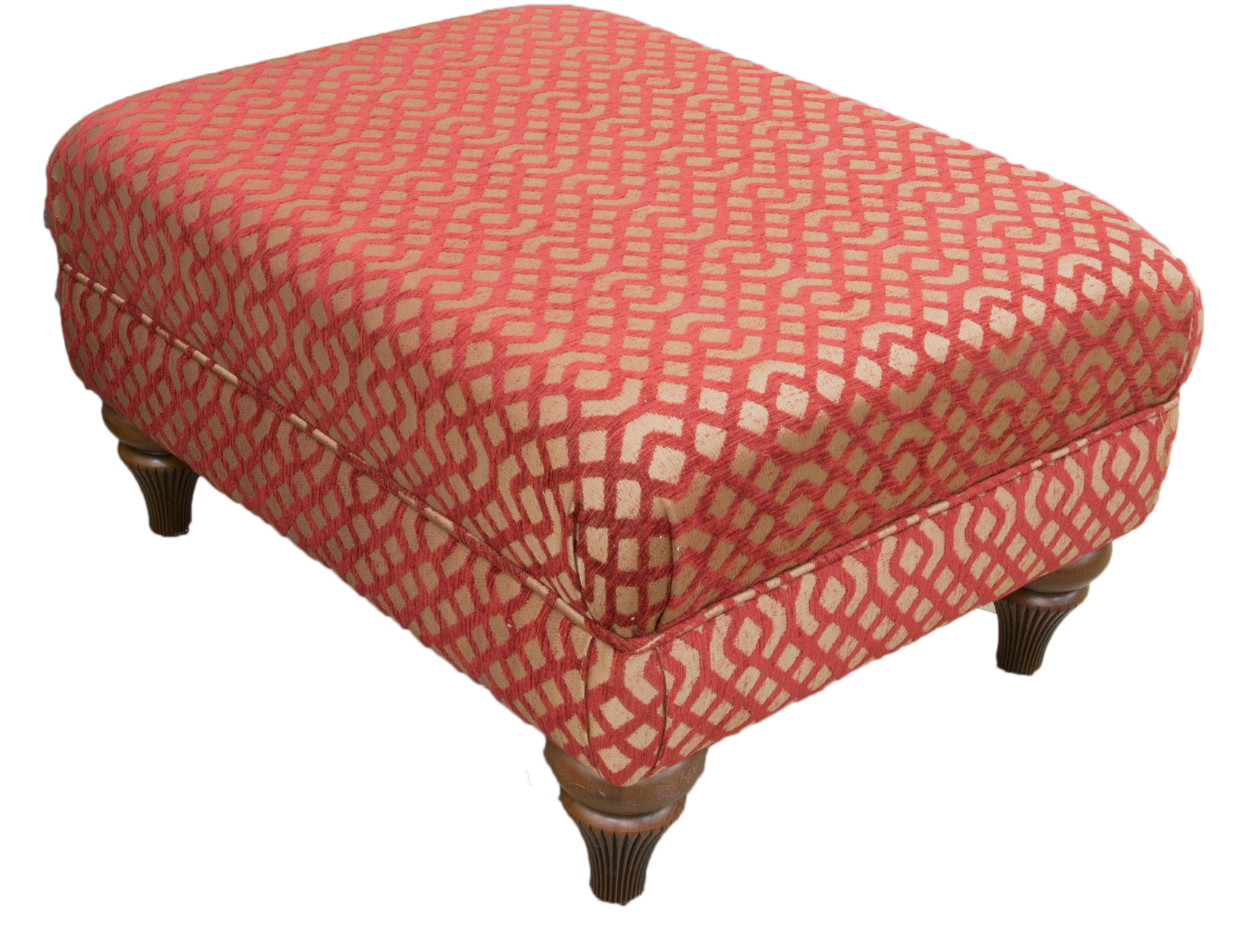 Costa Footstool-–-Silver-Collection