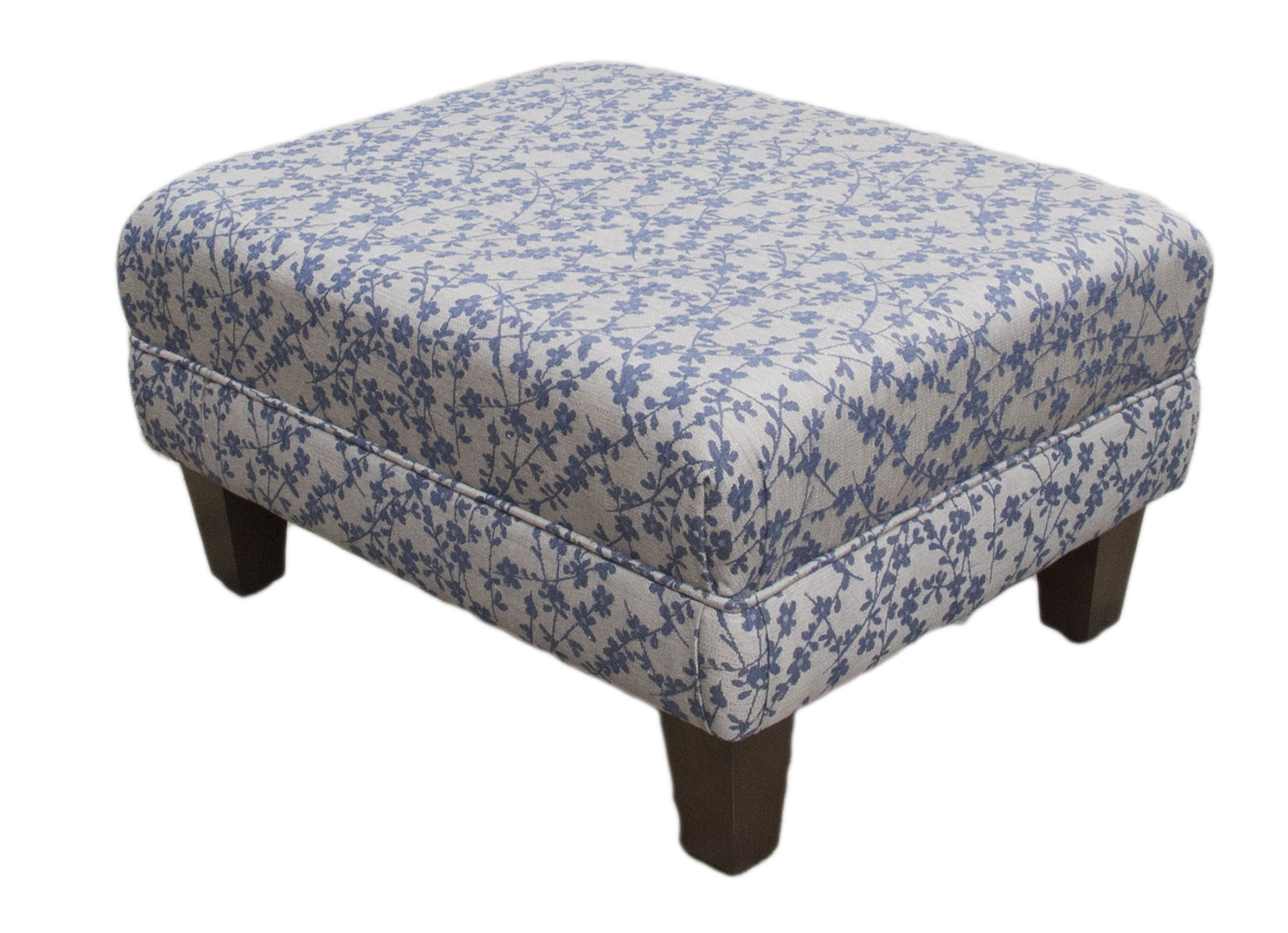 Footstool Kwint Nany Silver Collection side