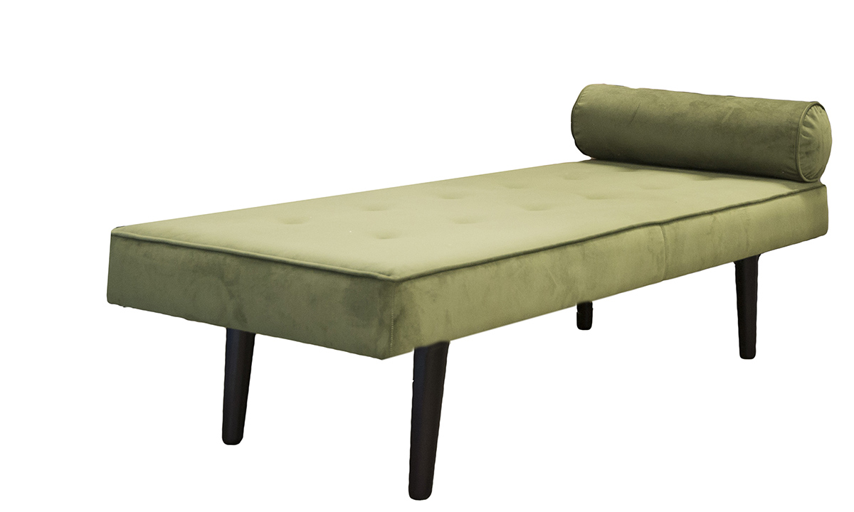 Day Bed, in Plush Vine, Gold Collection Fabric