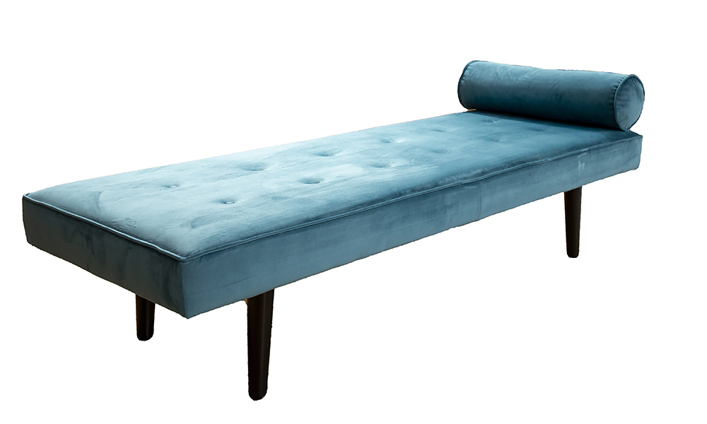 Day Bed in a Discontinued Fabric.