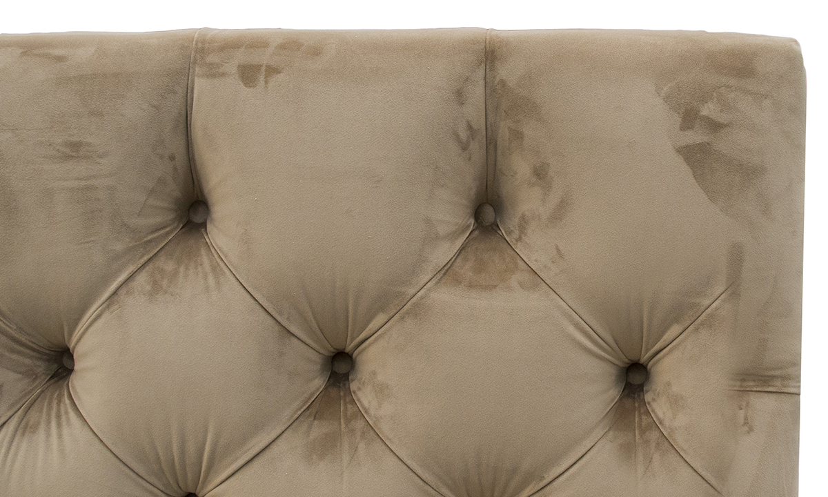 Deep Button Headboard discontinued fabric