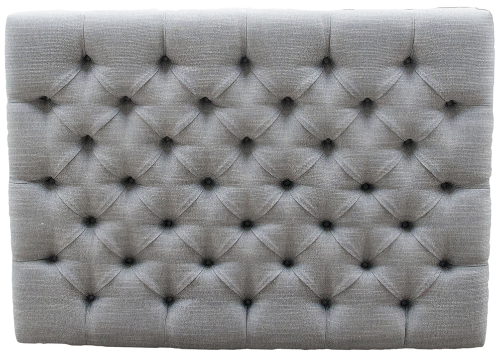 Deep Button Headboard 4ft6 - Ado Coal