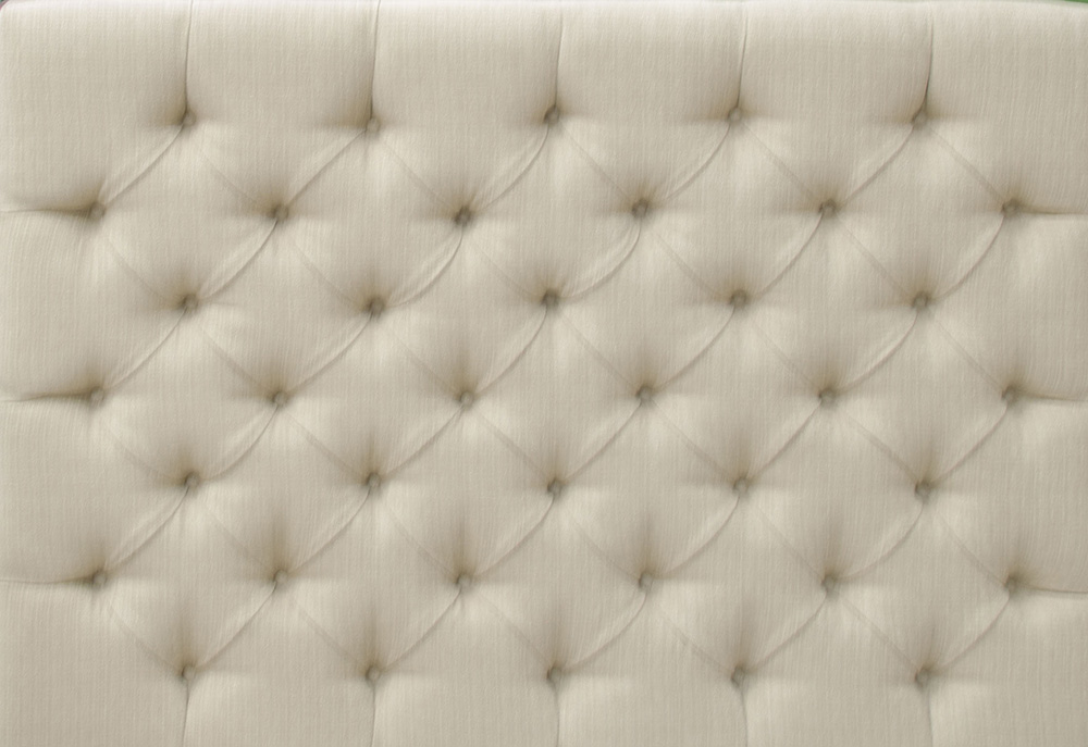 Deep Button Headboard 5ft - Bronze Collection