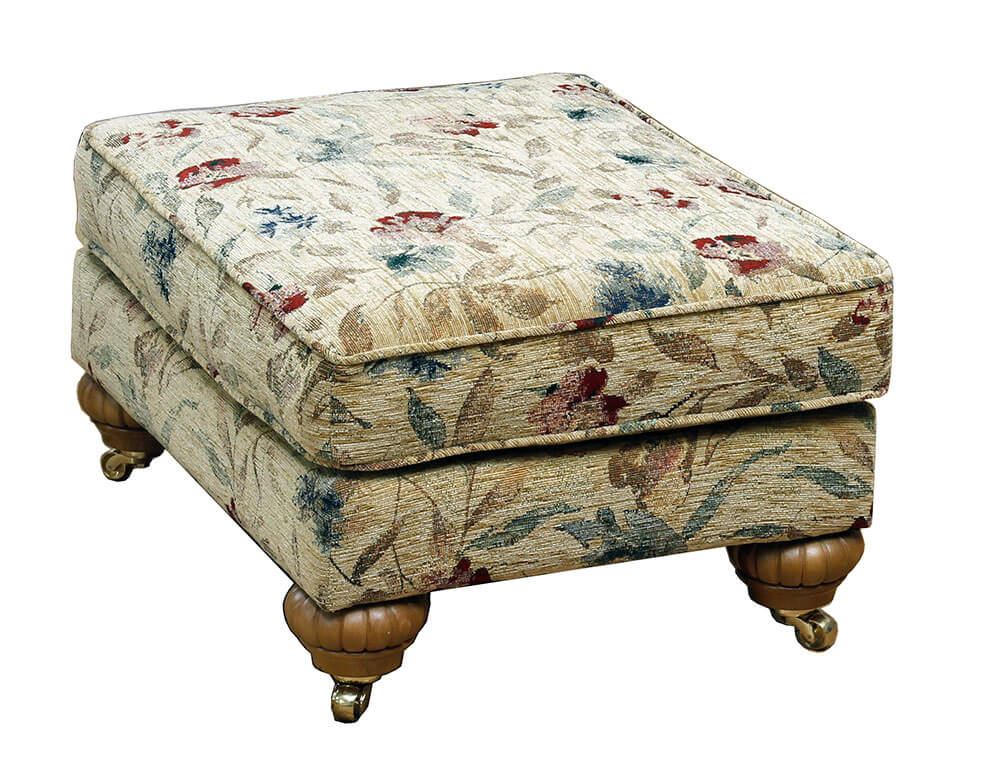 Elton Footstool Chelsea [Silver Collection]
