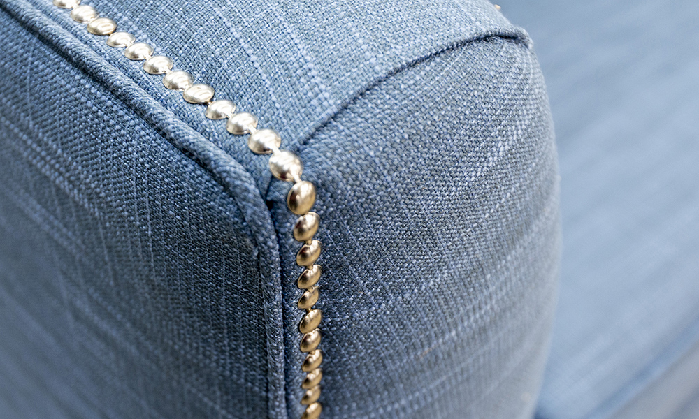 Arm Detail a in Fontington EMP521, Gold Collection Fabric