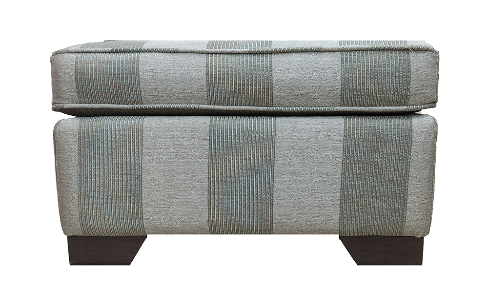 Imperial Footstool in a Discontinued Fabric