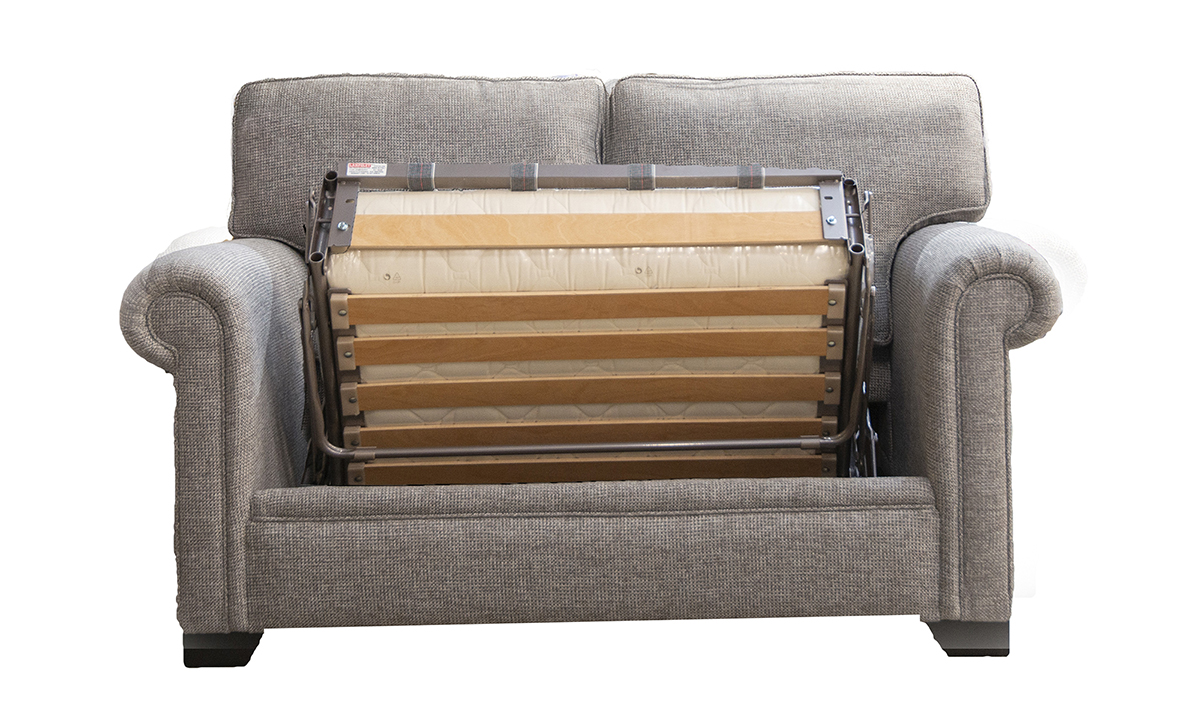 Imperial Sofa Bed 3ft Milwaukee Grey, bronze Collection