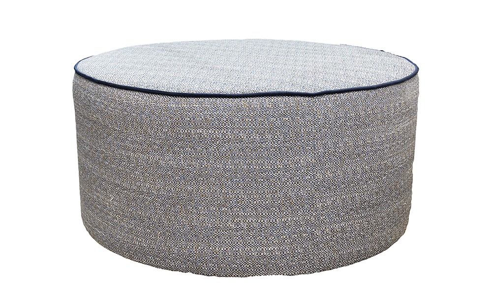 Jupiter Footstool in Customers Own Fabric