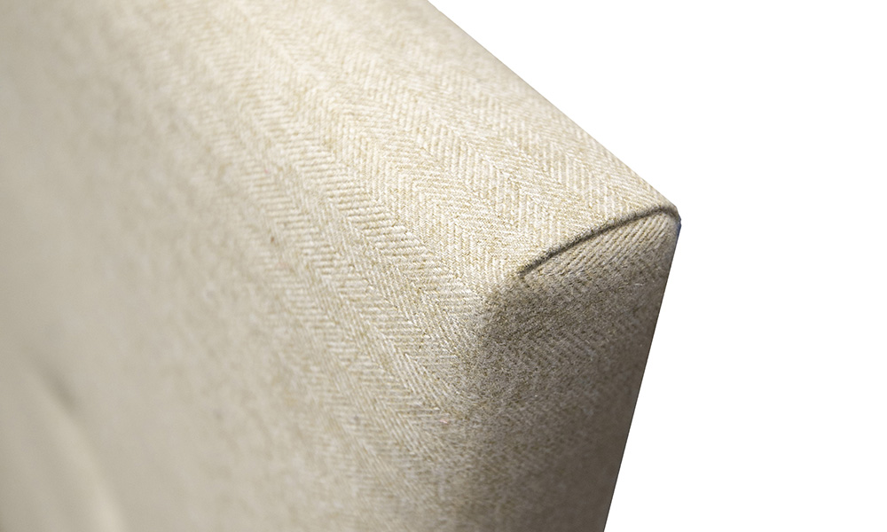 Kinsale-5ft-Headboard-Detail-Tweed-Oatmeal-Silver-Collection-Fabric