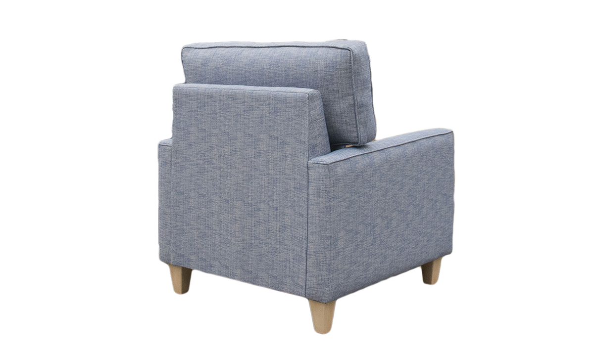 Leon Chair in a Discontinued Fabric