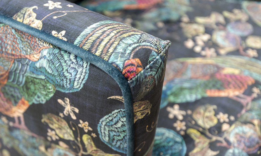 Lisa-Chair-in-Peacock-Navy-Platinium-Collection-Fabric-Piped-in-Edunburgh-Petrol-Silver-Collection-Fabric-405860