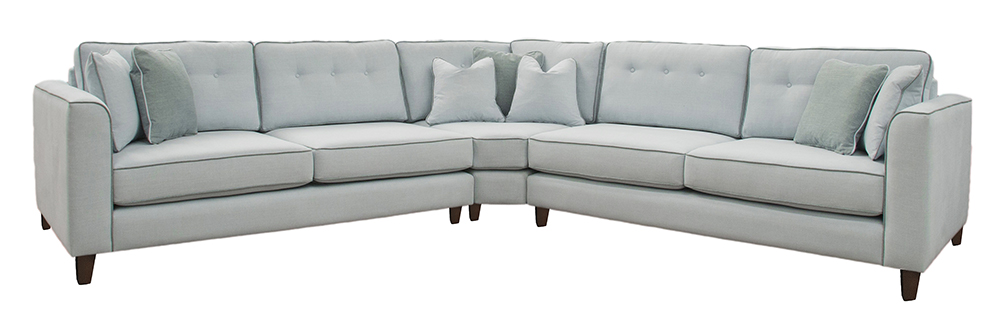 Bespoke Logan Corner Sofa Warwick Comfy Sea 2647x2467 Back Cushions Raised 2