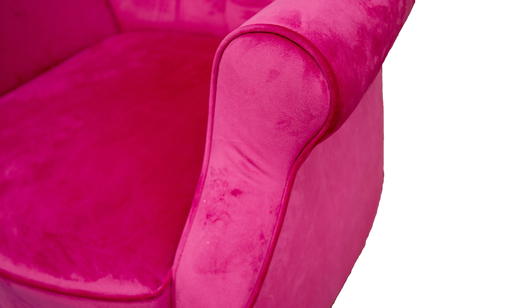Matisse Deep Button Chair Discontinued Fabric