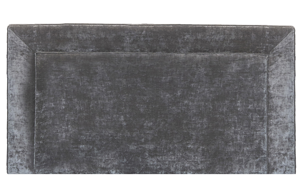 Monaco Headboard in Boulder Charcoal-Platinum Collection Fabric
