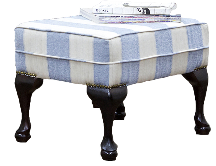Queen Anne Footstool Silver Collection