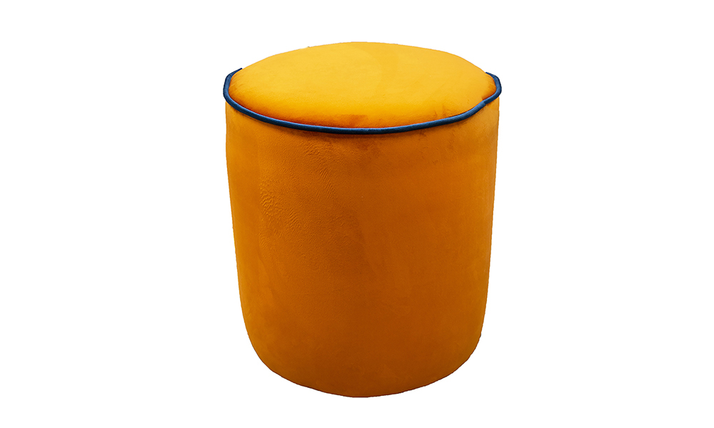 Pluto Footstool Discontinued Fabric