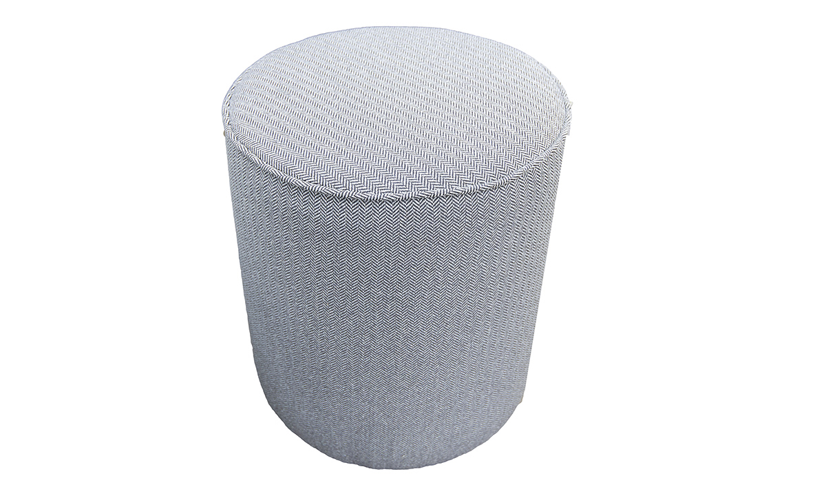 Pluto Footstool, in Porto Charcoal